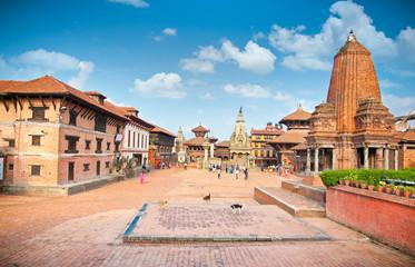 Photo sur Aluminium Népal Bhaktapur Durbar Square, Kathmandu valey, Nepal.