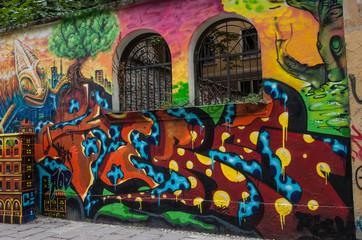 murales saracinesca