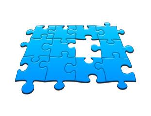 Puzzle pezzo mancante