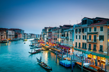 Wall Mural - 221- Grand Canal venice Colorful