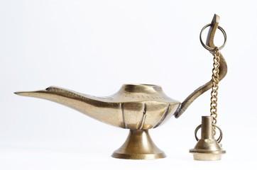 Brass mini teapot