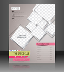Dance Club Back Flyer & Poster Cover Template