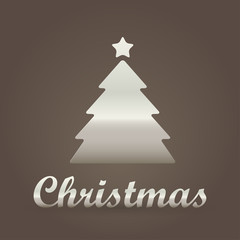 Christmas metallic Symbol