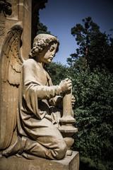 Statue of angel - Valtice, Czech Republic