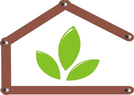 Erneuerbare Energie Haus