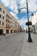 Fotomurales - Ulica Piotrkowska, Łódź, Polska