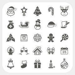 Christmas and Winter icons set