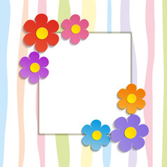 Greeting card background - Illustration