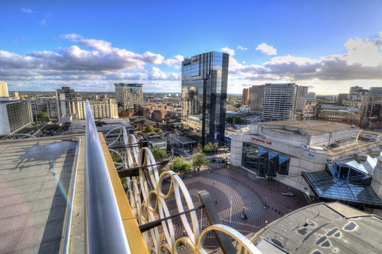 View of Birmingham from Library