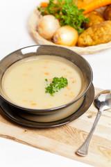 Baked potato cream soup
