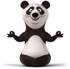 Papier Peint - Zen panda