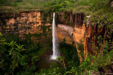 Wall Mural - Waterfall in Brazil, Wild
