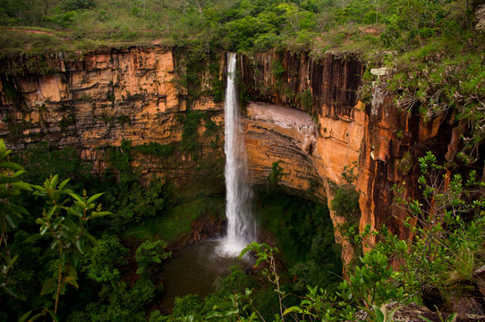 Waterfall in Brazil, Wild