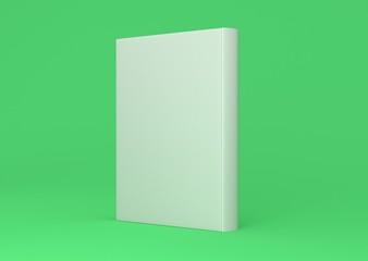 Buch Cover Rücken aufgestellt Hardcover Hintergrund grün