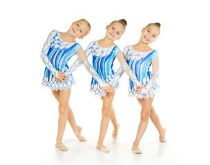Three little dancers