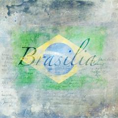 Fond grunge - Brasilia