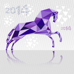 Horse is a symbol of 2014