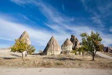 Cappadocian fairy chimneys