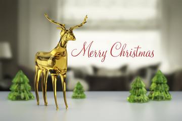 reindeer of glass