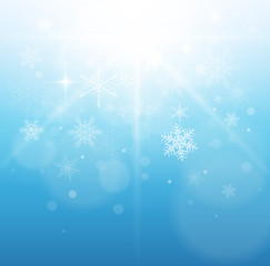Christmas, winter background