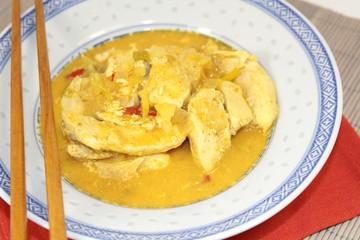 sauté de volaille au curry