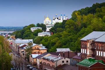 historic district of Nizhny Novgorod. Russia