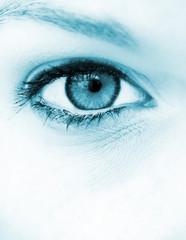 Blue eye vision