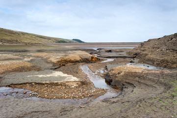 dried up yorkshire reservoir