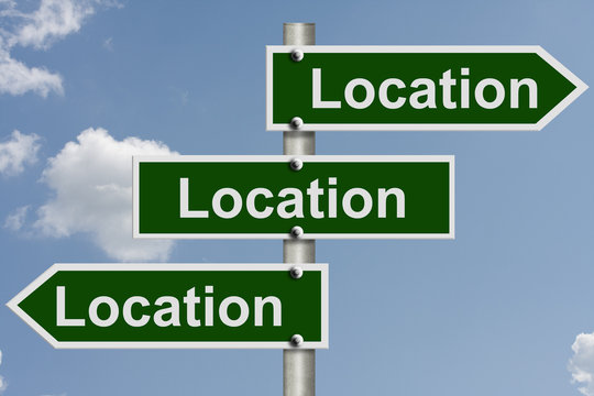 Real estate is all about the location