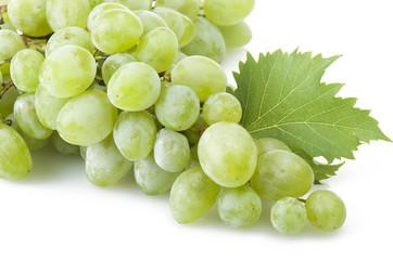 green freshness grape on the white background Fototapete