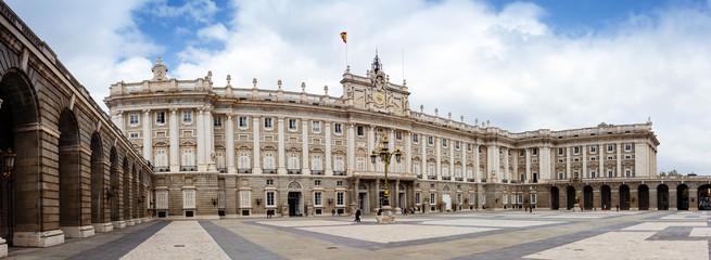 Panorama of Royal Palace. Madrid