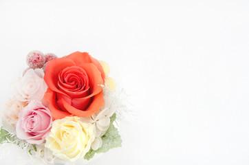 プリザーブドフラワー 薔薇