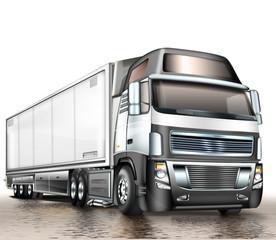 Sattelschlepper - Transport, Logistik