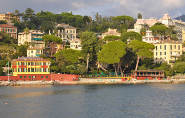sulla strada per Portofino, Liguria, Italia