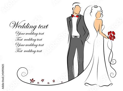 Свадебные рисунки для открыток