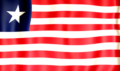 National Flag of Liberia