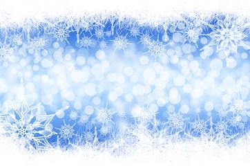Doodle Winterstern Hintergrund