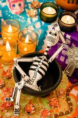 Day of the dead altar, Dia de Muertos