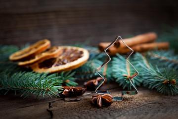 Keksausstecher zu Weihnachtsdeko