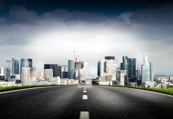 strada per Parigi