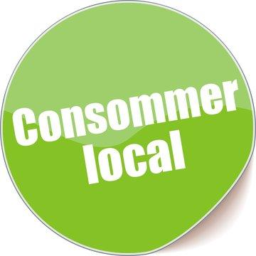 étiquette consommer local