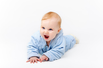 Fototapeta blue baby 3 obraz