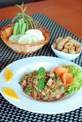 vermicelli spicy salad