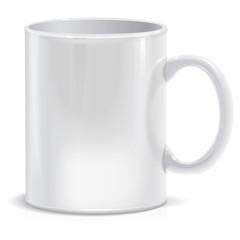 Tea cup. Vector Illustration.