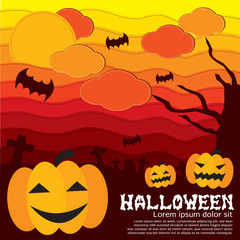 Halloween Concept Vector Illustration.EPS10