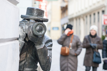 The Statue Of Paparazzi