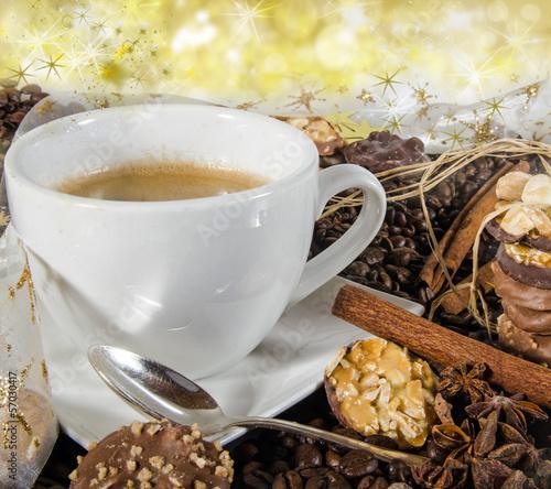 """frohe weihnachten: einladung zum advents-kaffee"""" stockfotos und, Einladung"""