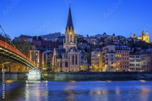 страны архитектура река Лион Франция country architecture river Lyon France бесплатно