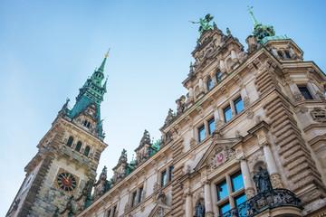 Hamburg tourism town hall