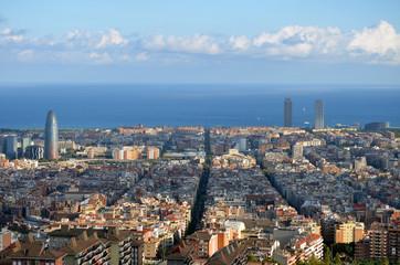 Clarooscuros en las calles de Barcelona